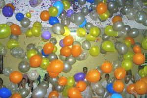 Karneval mit Ballons