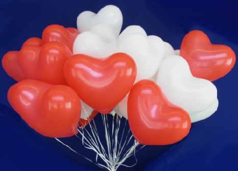 Luftballons Hochzeit im Ballonshop